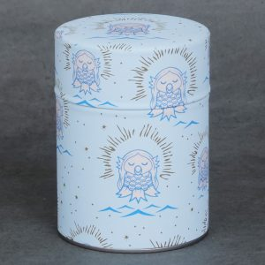 Boîte à thé washi amabié
