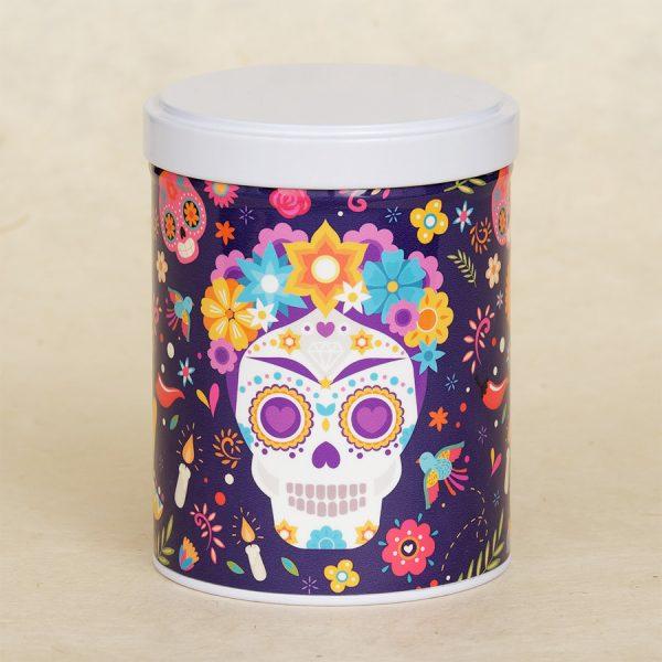 Boîte à thé Dia de Muertos