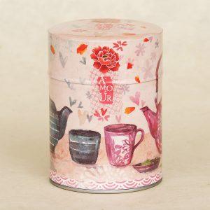 Boîte à thé illistrée Amour - Minasmoke