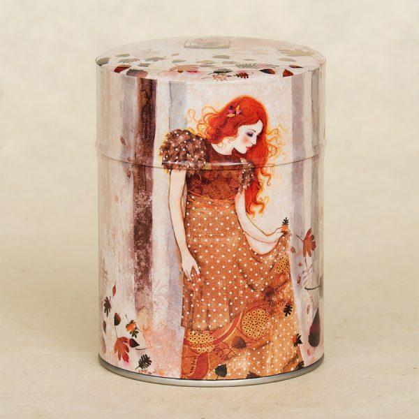 Boîte à thé illustrée Autumn Sorcery