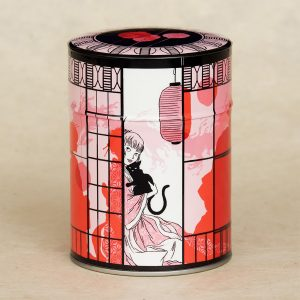 Boîte à thé illustrée Pavillon de thé