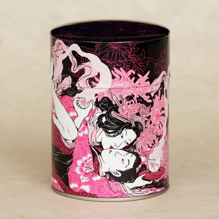 Boîte à thé illustrée Yoku