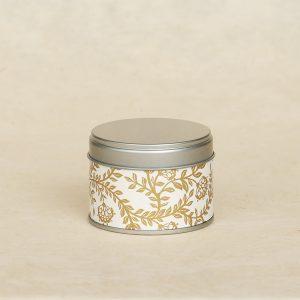 Petite boîte à thé washi Akaishi