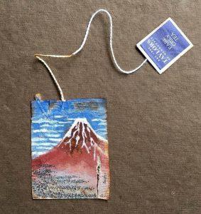 Ruby Silvious Mont Fuji tea bag