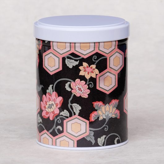 Boîte à thé illustrée Shimoda