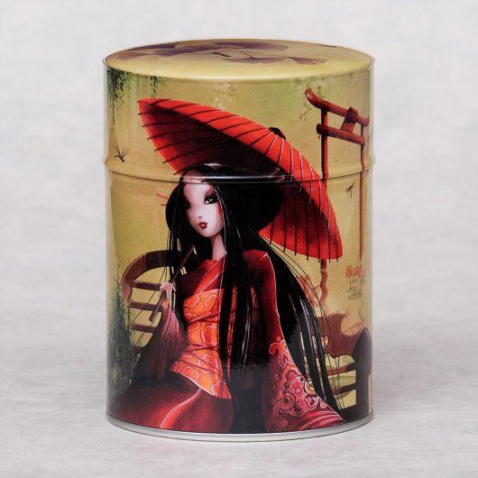 Boîte à thé illustrée Ombrelle
