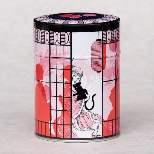 Boîte à thé illustrée Pavillon du thé