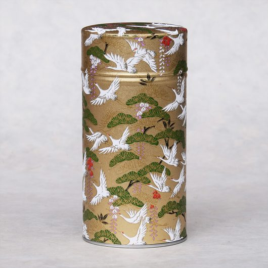 Grande Grande boîte à thé washi Maze