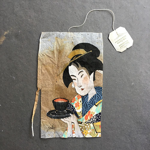 Ruby Silvious Geisha tea bag