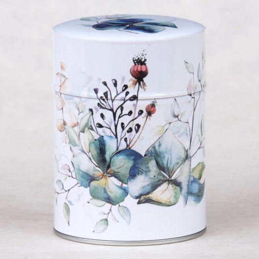 Boîte à thé luxe Bouquet d'hortensias