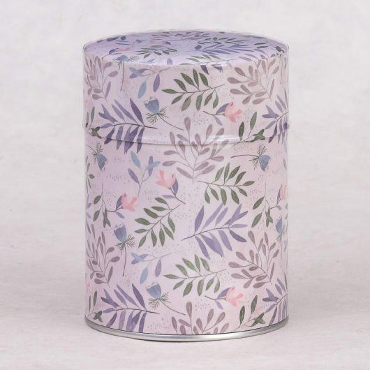 Boîte à thé illustrée Floral