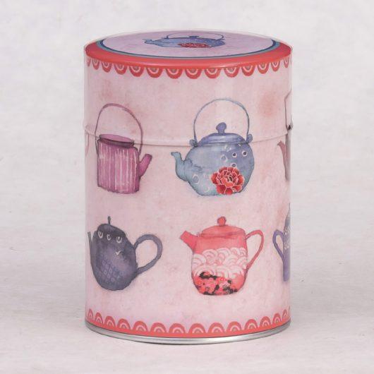 Boîte à thé illustrée Petites Théières