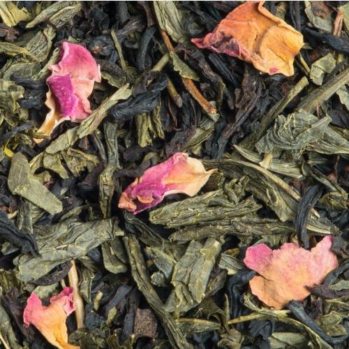 Thé noir et vert Rose Litchi