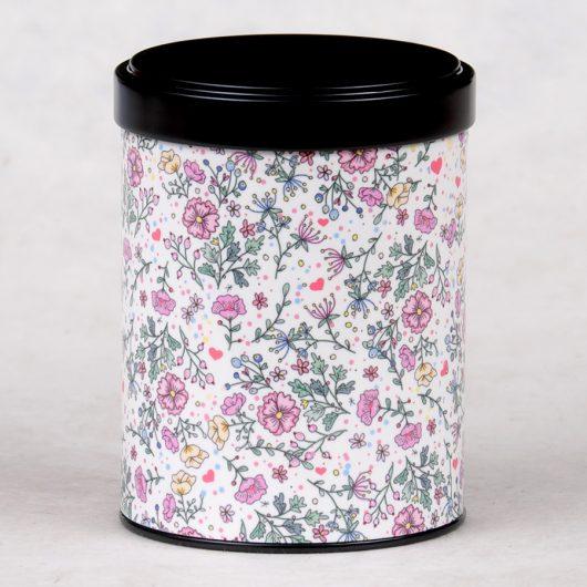 Boîte à thé Fleurs anglaises