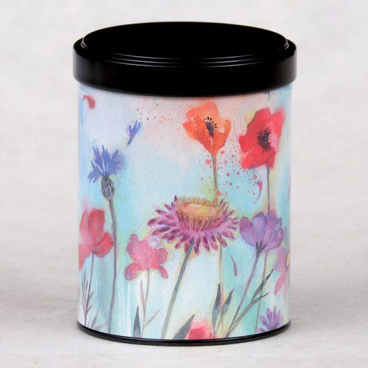Boîte à thé Fleurs sauvages