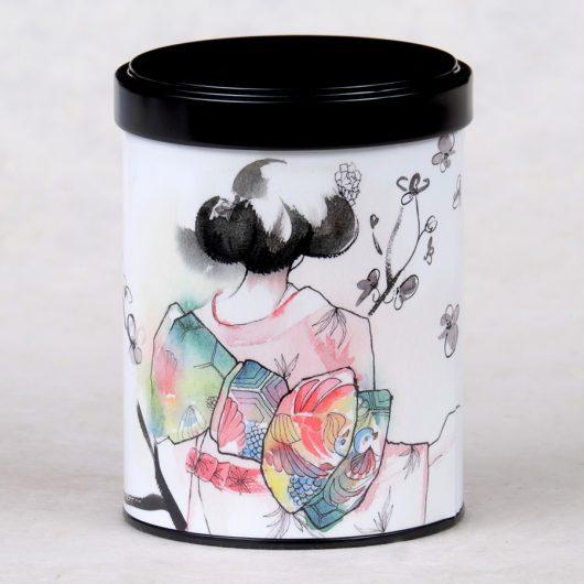 Boîte à thé Geisha Misaki