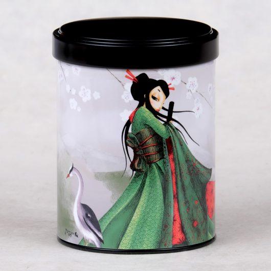 Boîte à thé la voyageuse