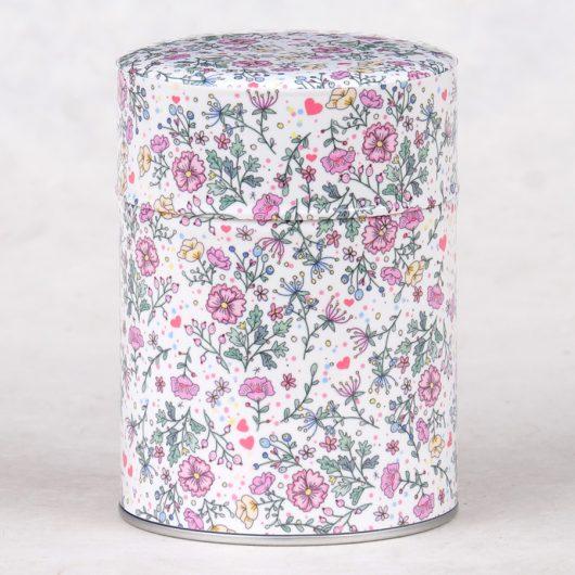Boîte à thé luxe Fleurs anglaises