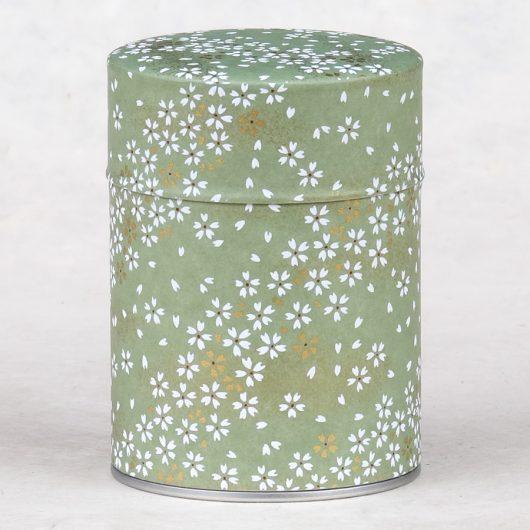 Boîte à thé luxe washi Kinako