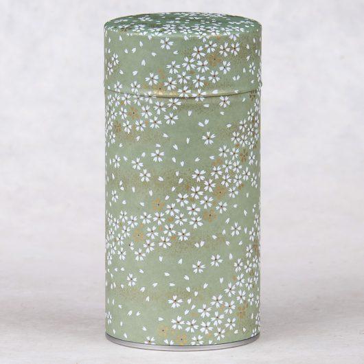 Boîte à thé washi 150g Kinako