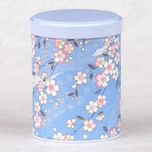 Boîte à thé washi Usune